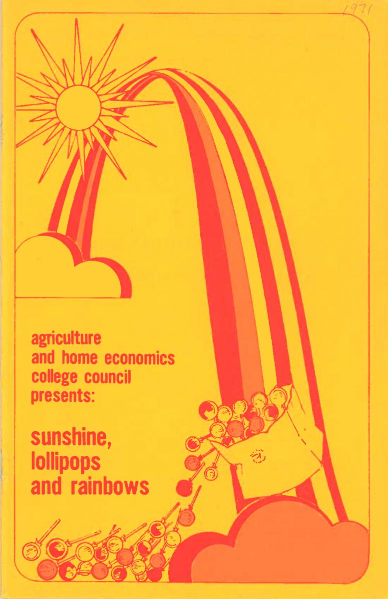 1971 Recognition Program Cover