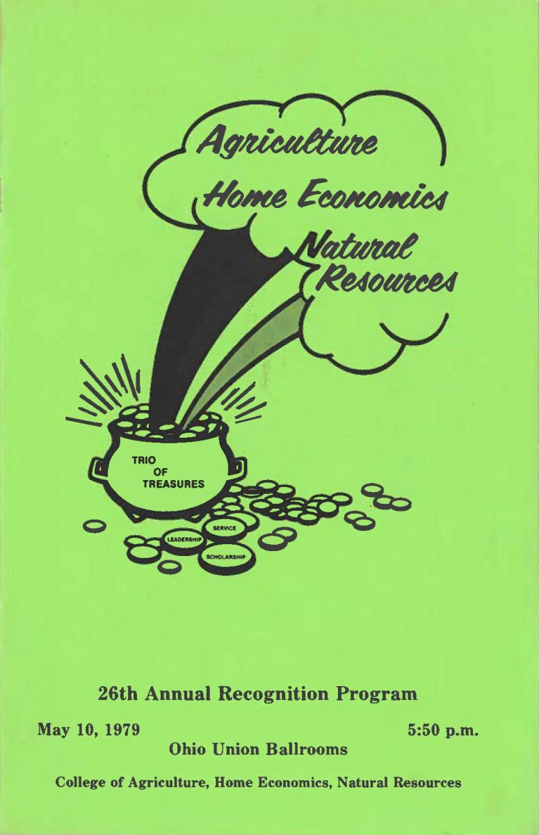 1979 Recognition Program Cover