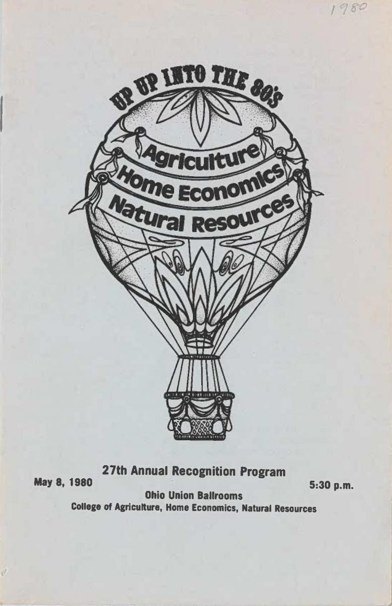 1980 Recognition Program Cover