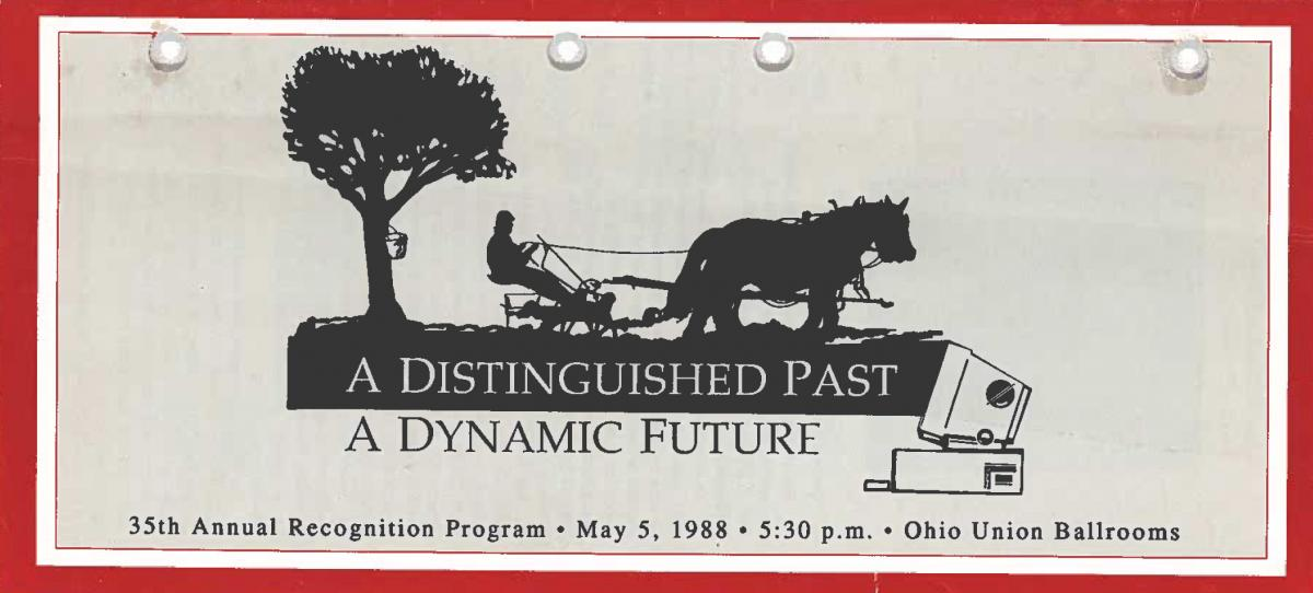 1988 Recognition Program Cover