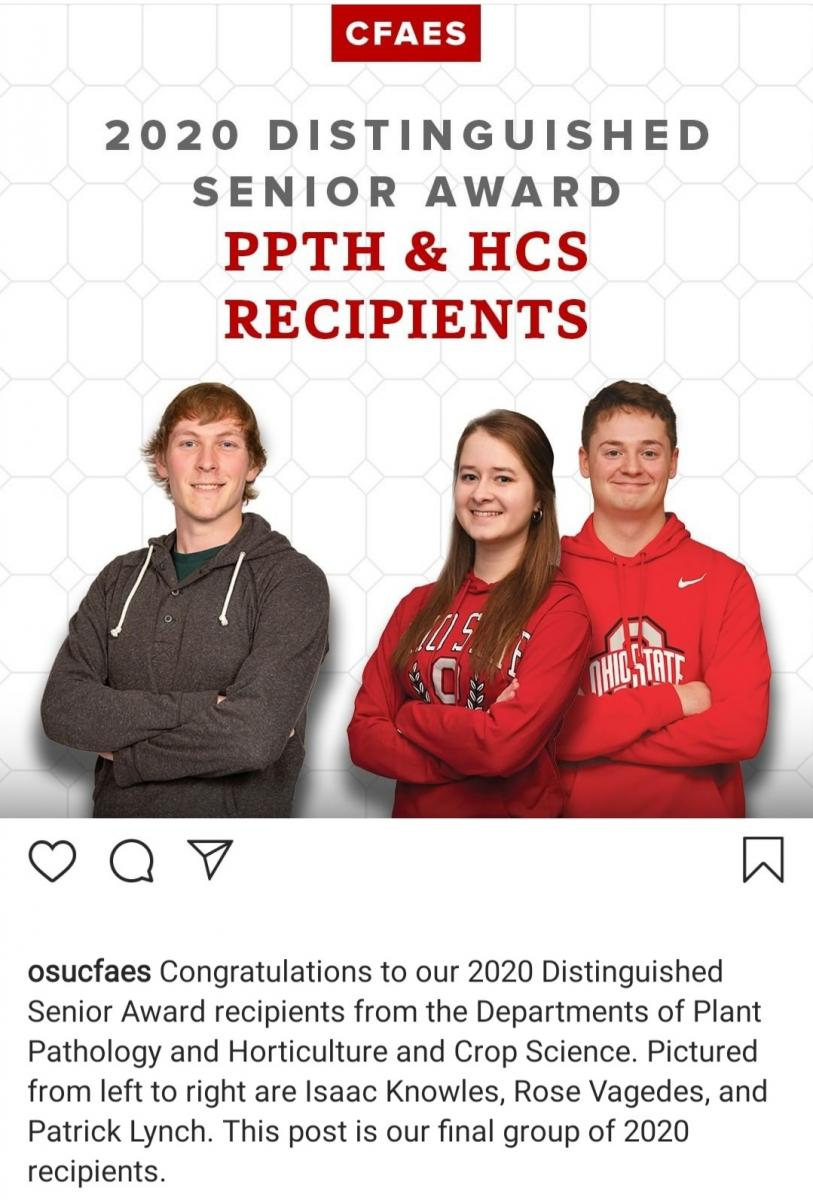 PPTH & HCS Instagram Recognition