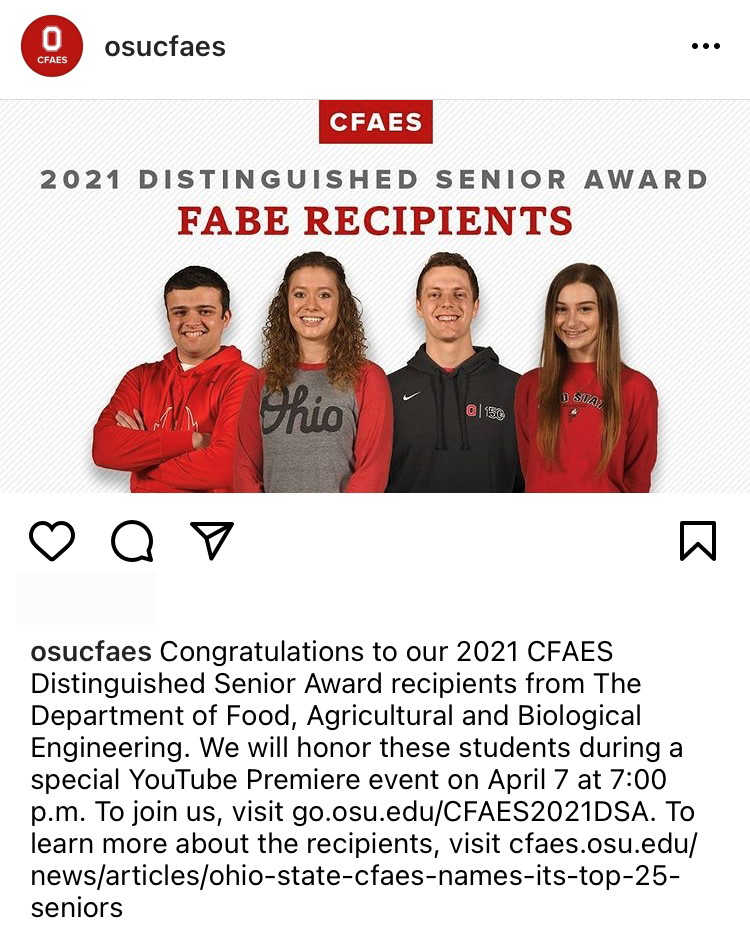 FABE - Instagram Recognition