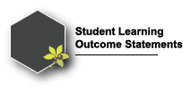 Student Learning Outcome Statements