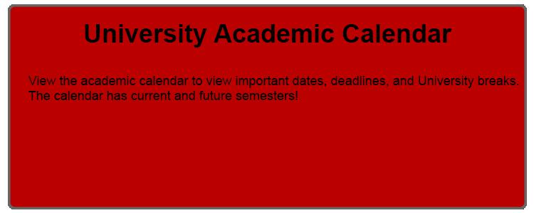 Academic Calendar Osu.University Registrar Resources Academic Programs