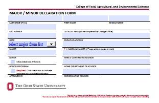 Forms | Academic Programs